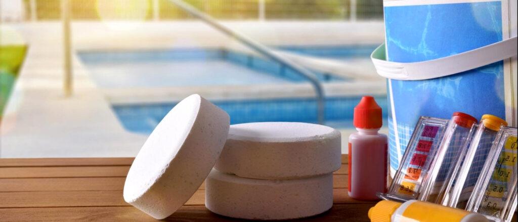 klór és medence vegyszer ellenőrzés